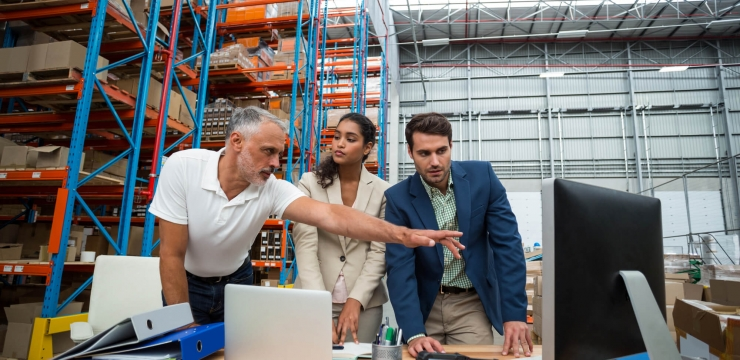 What are the benefits of digital transformation in the supply chain?